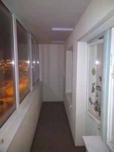 Обшивка балкона панелями ПВХ ул. Монтажников 13