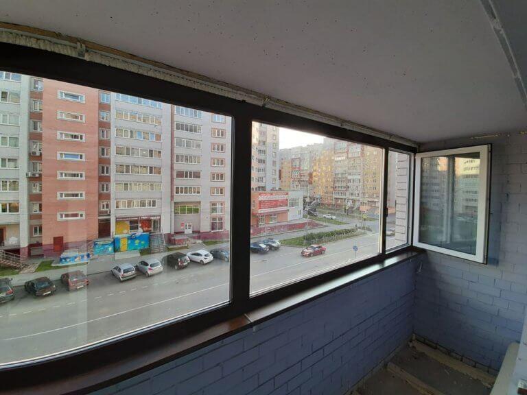 Ламинация балкона