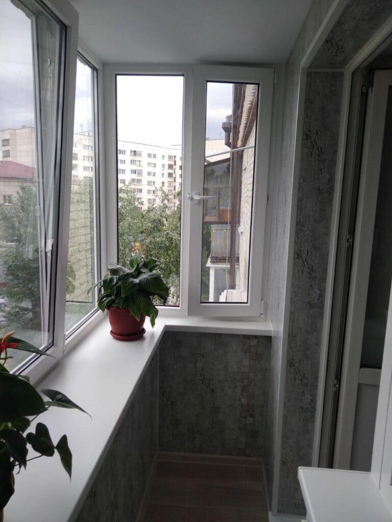 Балкон под ключ, ул. Волгоградская 119